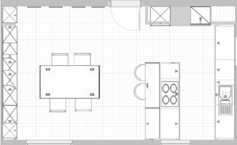 Küche planen mit insel  Wie die Küche planen ? | Küchenausstattung Forum | Chefkoch.de