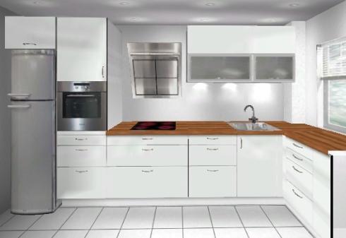Küchenplanung kleine küche  Küchenplanung kleine Küche (400x170) | Küchenausstattung Forum ...