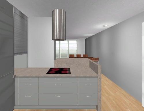 offene küche auf kleinerem raum, bitte um hilfe ... - Kleine Offene Küche