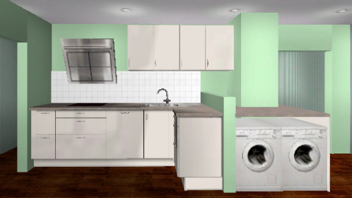 kleine k che einrichten k chenausstattung forum. Black Bedroom Furniture Sets. Home Design Ideas