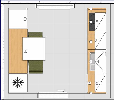 küchenplanung a la zora | küchenausstattung forum | chefkoch.de - Möbelum Küche