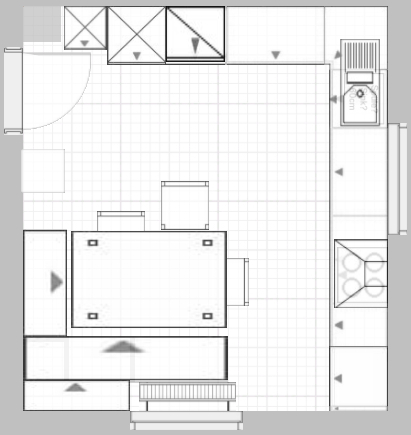 teek che b ro grundriss. Black Bedroom Furniture Sets. Home Design Ideas