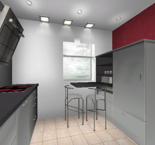 Küchenplanung 2 Fenster Verwinkelt 1081885796