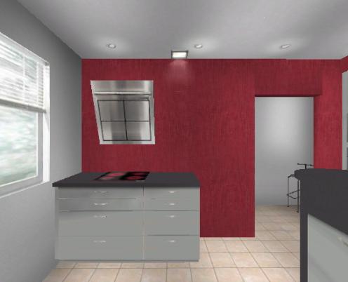 Küchenplanung 2 Fenster Verwinkelt 3040123935