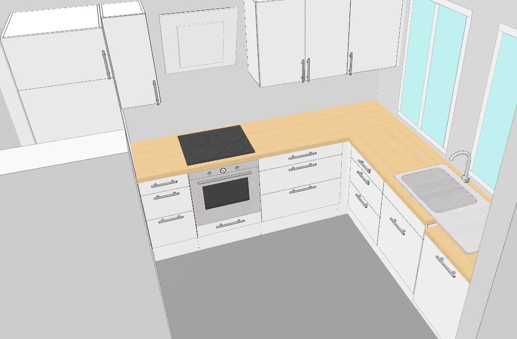ikea k che nach vergeblichen studio versuchen offene. Black Bedroom Furniture Sets. Home Design Ideas