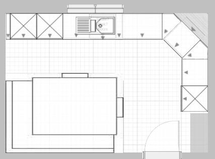 hilfe bei kuechenplanung   Küchenausstattung Forum   Chefkoch.de   {Küchenplanung grundriss 97}