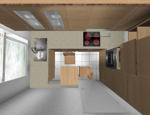 eck hochschrank kuche m bel und heimat design inspiration. Black Bedroom Furniture Sets. Home Design Ideas