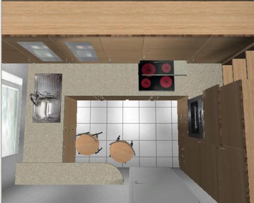 Einbauen küche