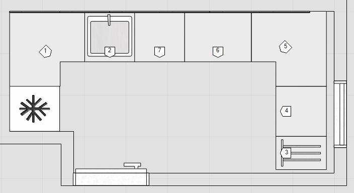 Küche kleine küche dachschräge : Kleine Küche-Dachschräge ...