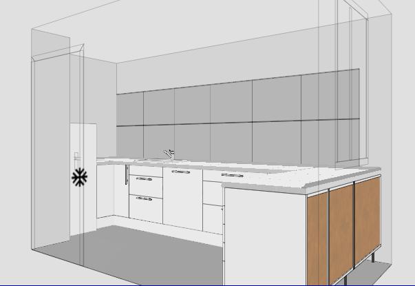 kleine k che dachschr ge keine hochschr nke k chenausstattung forum. Black Bedroom Furniture Sets. Home Design Ideas