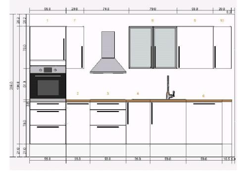 hochglanz k chenzeile gesucht wo schauen k chenausstattung forum. Black Bedroom Furniture Sets. Home Design Ideas