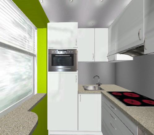 Problem: 3,2 m² Küche | Küchenausstattung Forum | Chefkoch.de