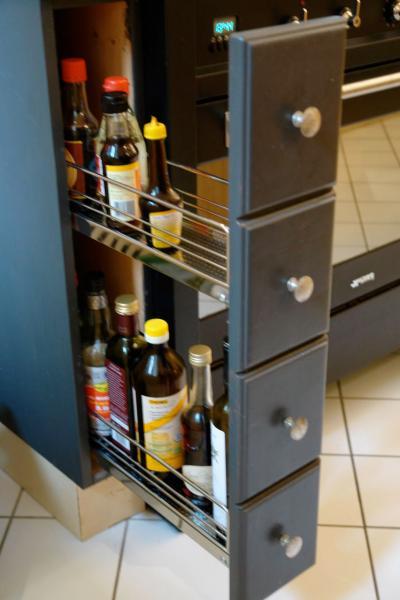 Preislicher unterschied 15 und 30cm breiter unterschrank for Ausziehschrank küche
