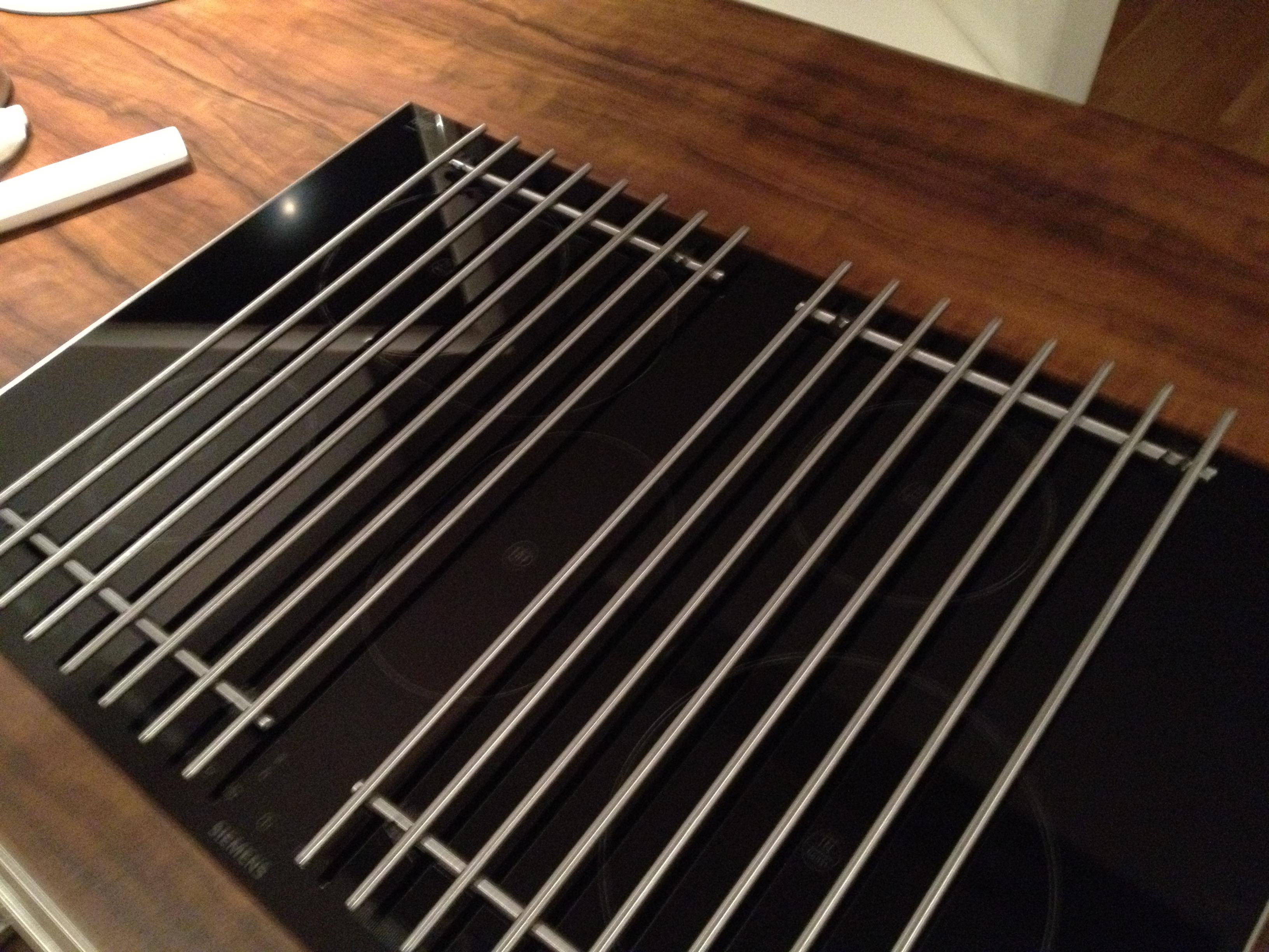 bitte um eure erfahrungen herdabdeckung fuer induktion. Black Bedroom Furniture Sets. Home Design Ideas