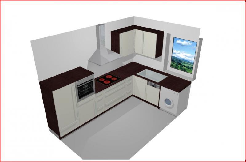 eck h ngeregal k che. Black Bedroom Furniture Sets. Home Design Ideas