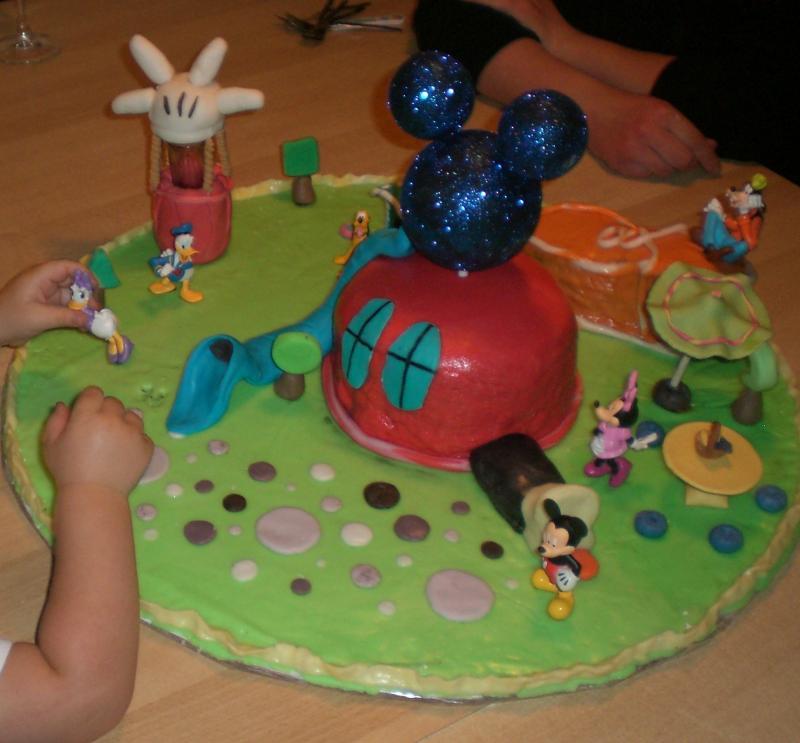 Geburtstag Meines Sohnes! Micky Maus Wunderhaus