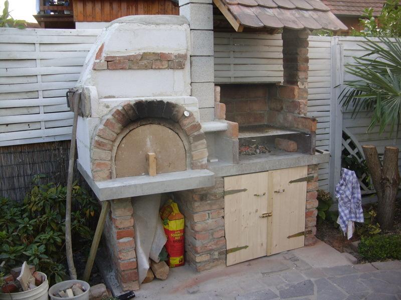 mein neuer holzbackofen mit grill fotoalbum sonstiges bei chefkoch de. Black Bedroom Furniture Sets. Home Design Ideas
