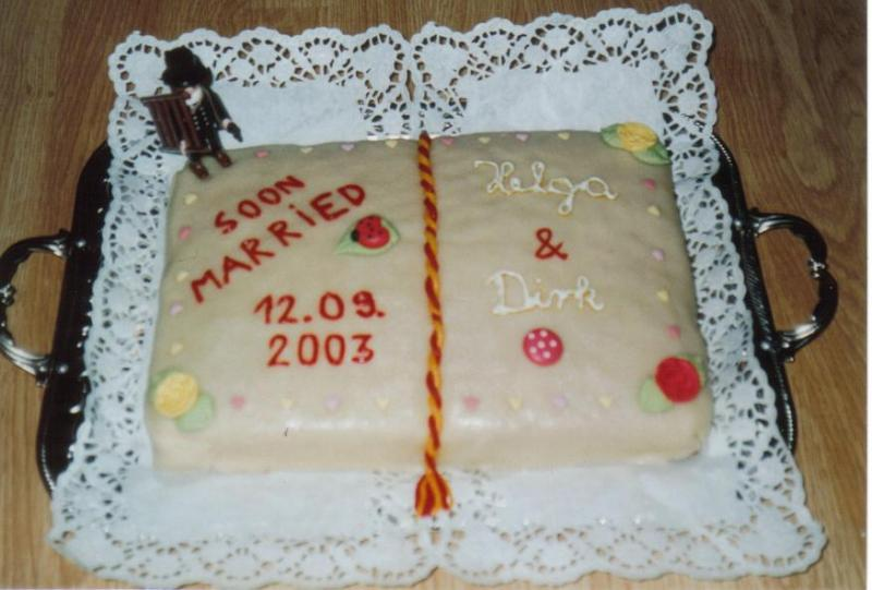 Kuchen fur polterabend