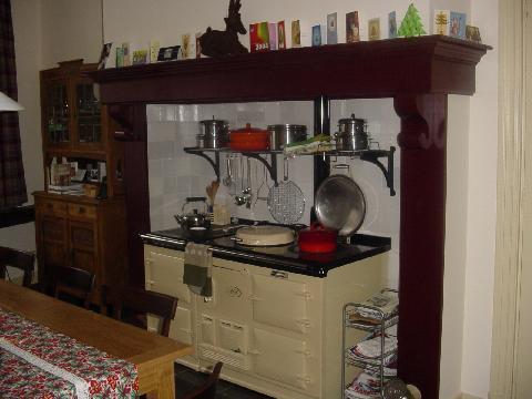 meine neue kueche mit dem aga herd fotoalbum. Black Bedroom Furniture Sets. Home Design Ideas
