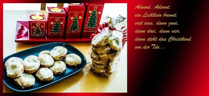 Weihnachts Karten Motiven Küche 1457866866
