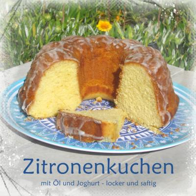zitronenkuchen mit l und joghurt torten kuchen forum. Black Bedroom Furniture Sets. Home Design Ideas