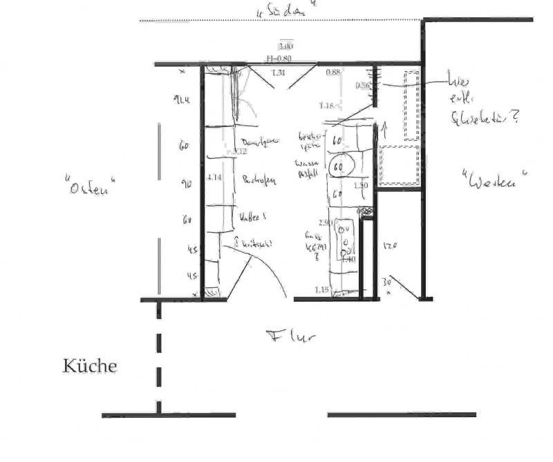 Küchenplanung (1) Fotoalbum   Kameralos (keine Fotos) bei CHEFKOCH.DE   {Kochschule grundriss 97}
