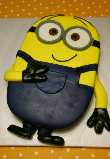 Как сделать торт миньоны фото