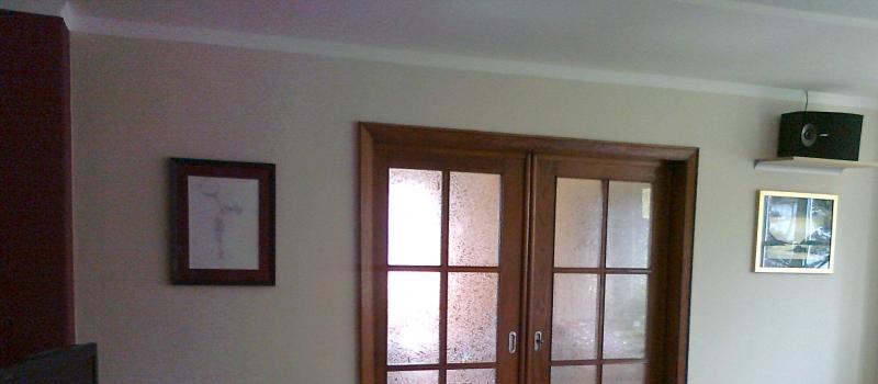 Wände Streichen Weißer Streifen 345164835