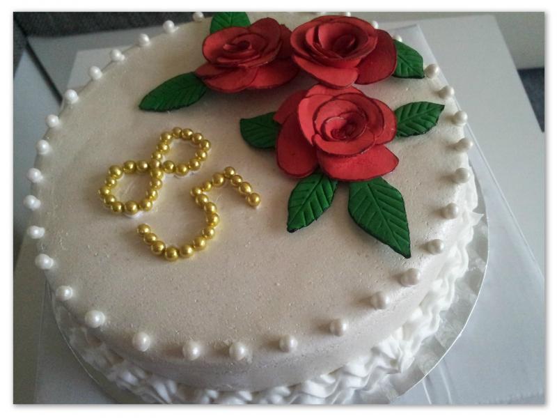 Mein erster blumenkuchen f r schwiegeroma in spe s 85 - Geschenke zum 85 geburtstag ...