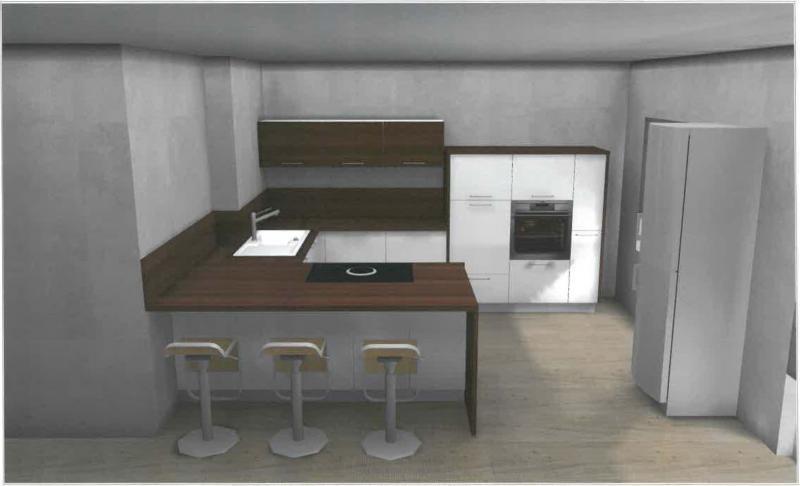 bora basic biu in nolte wei hg mit nussbaum fotoalbum. Black Bedroom Furniture Sets. Home Design Ideas