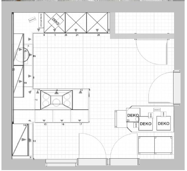 Küchenplanung ansicht  Küche für unseren Neubau Fotoalbum | Technik bei CHEFKOCH.DE