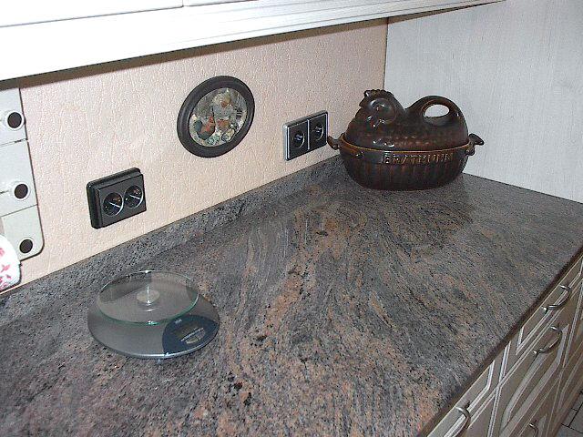 Unsere NOLTE-KÜCHE Dallas/Ahorn - klein, aber fein mit Granitplatte ...