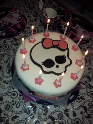 monster high kuchen