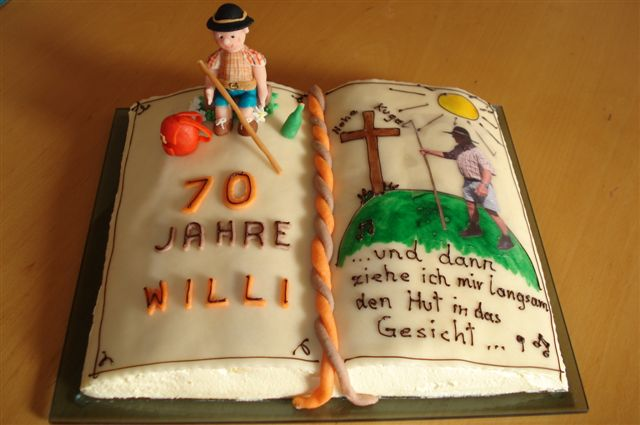 Motivtorten fotoalbum kochen rezepte bei chefkoch de - Deko zum 70 geburtstag ...