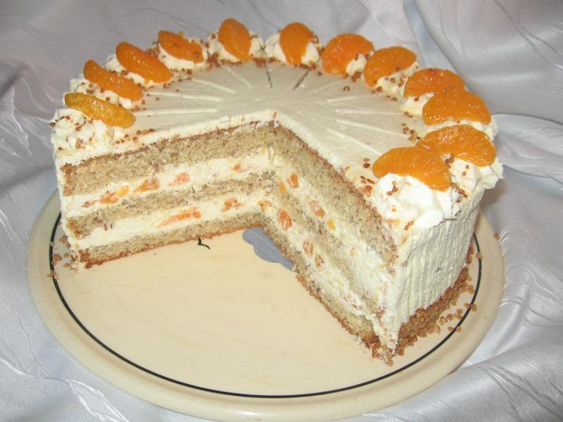 Mandarinen sahne torte rezept
