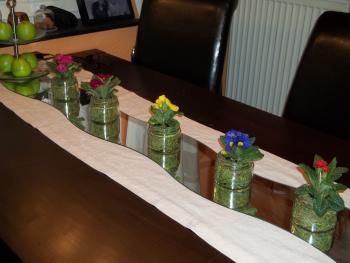 Welche flaschen gl ser usw sind sch n zum verschenken geschenke aus der k che forum - Leere flaschen dekorieren ...
