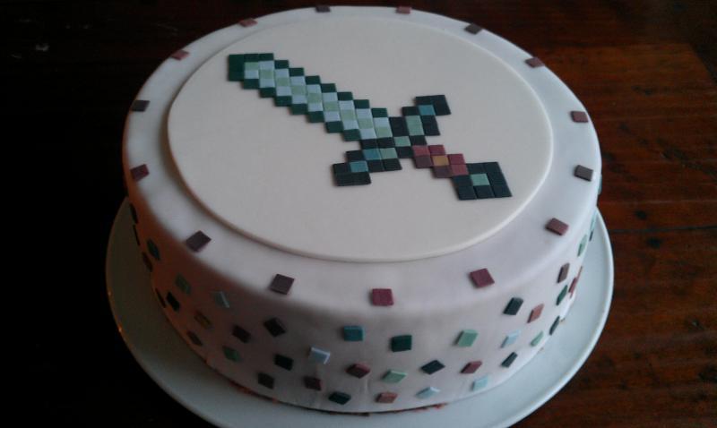 Minecraft Aufleger Geburtstagstorte Motivtorten Fotos Forum