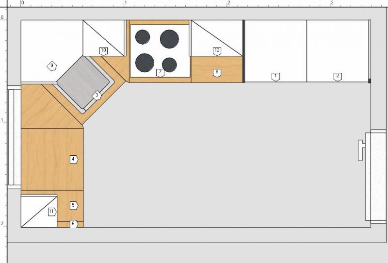 Meine Küchenplanung Fotoalbum | Sonstiges bei CHEFKOCH.DE | {Küchen unterschrank ecke 17}