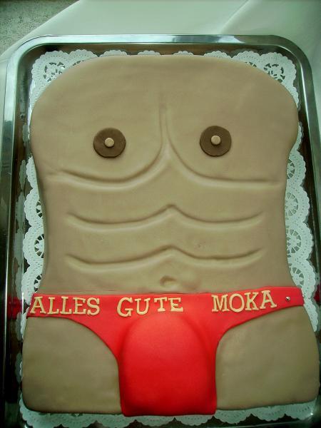 Kuchen als mann