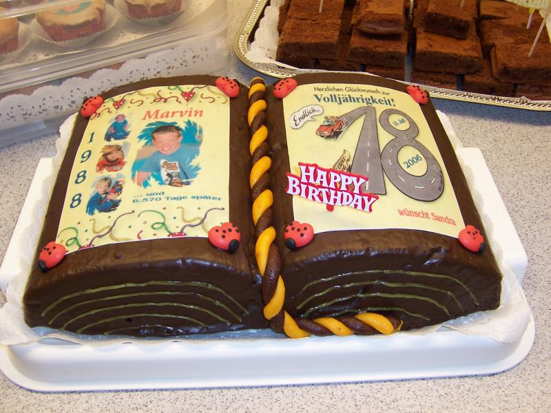 Backen fotoalbum kochen rezepte bei chefkoch de for Kuchen 18 geburtstag