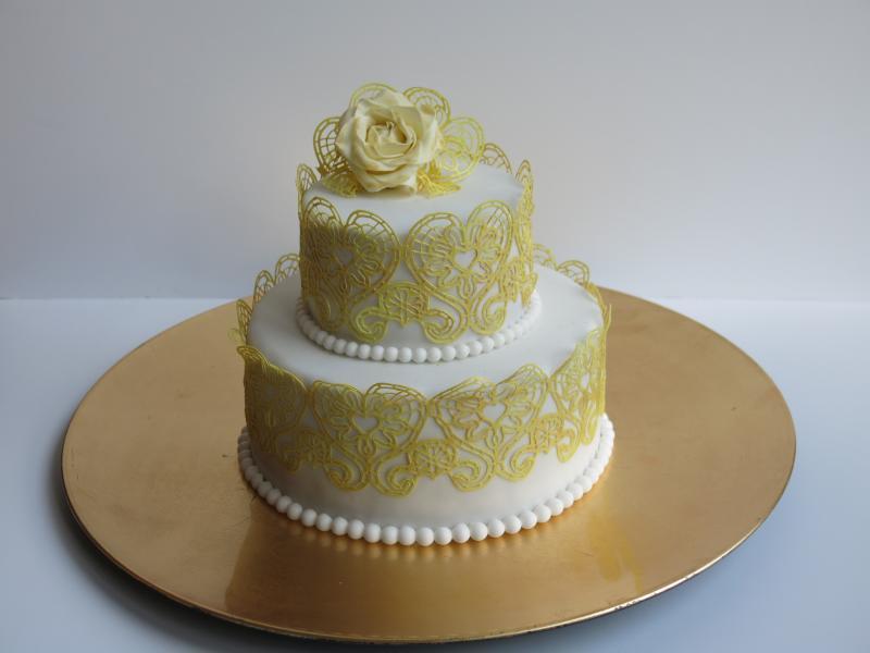 Etwas Kleines Zur Goldenen Hochzeit Motivtorten Fotos
