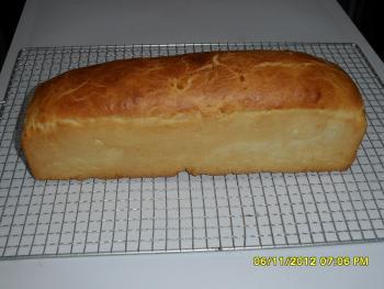 Brot Ansicht (mit HefeInstantpulver gebacken)