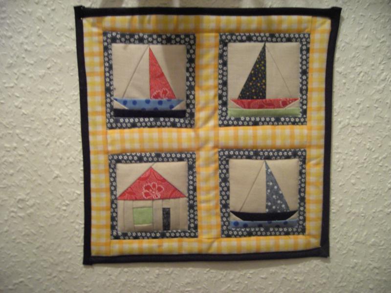 Patchwork u applikation fotoalbum sonstiges bei chefkoch de - Wandbehang patchwork ...