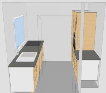 riquelme 2 45m x 2 4m 5 6 qm geschlossene k che fotoalbum sonstiges bei. Black Bedroom Furniture Sets. Home Design Ideas