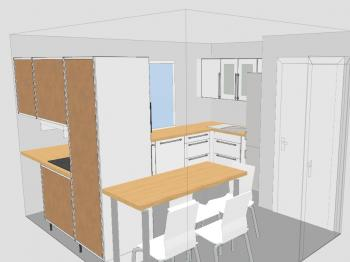 designer kche mit essplatz. vom essplatz richtung kche. essplatz ... - Kleine Küche Mit Essplatz