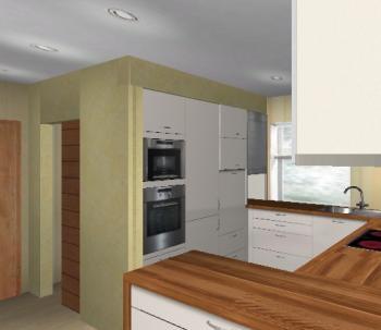 Schiebetür küche speisekammer  Bianka82 - 31.03.2008 - 8,38x4,m offene Küche mit Speisekammer ...