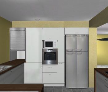 Side By Side In Küche Integrieren ~ Home Design Ideen | {Amerikanische kühlschränke küche 11}