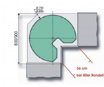 ExoticCocktail Küchenplanung 22.02.2006 (5m x 4,5m - Offene Küche ... | {Küchenschränke maße 44}