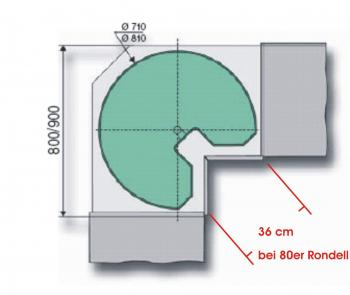 k chen eckschrank ma e. Black Bedroom Furniture Sets. Home Design Ideas