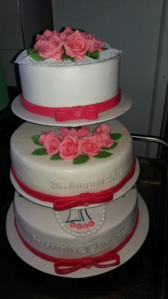 Hochzeitstorte Fondant Sommer 4025039617